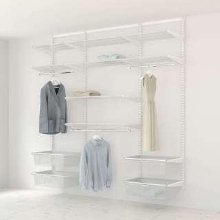 Kit Rangement Dressing Medium Elfa Blanc 210 Cm-Elfa