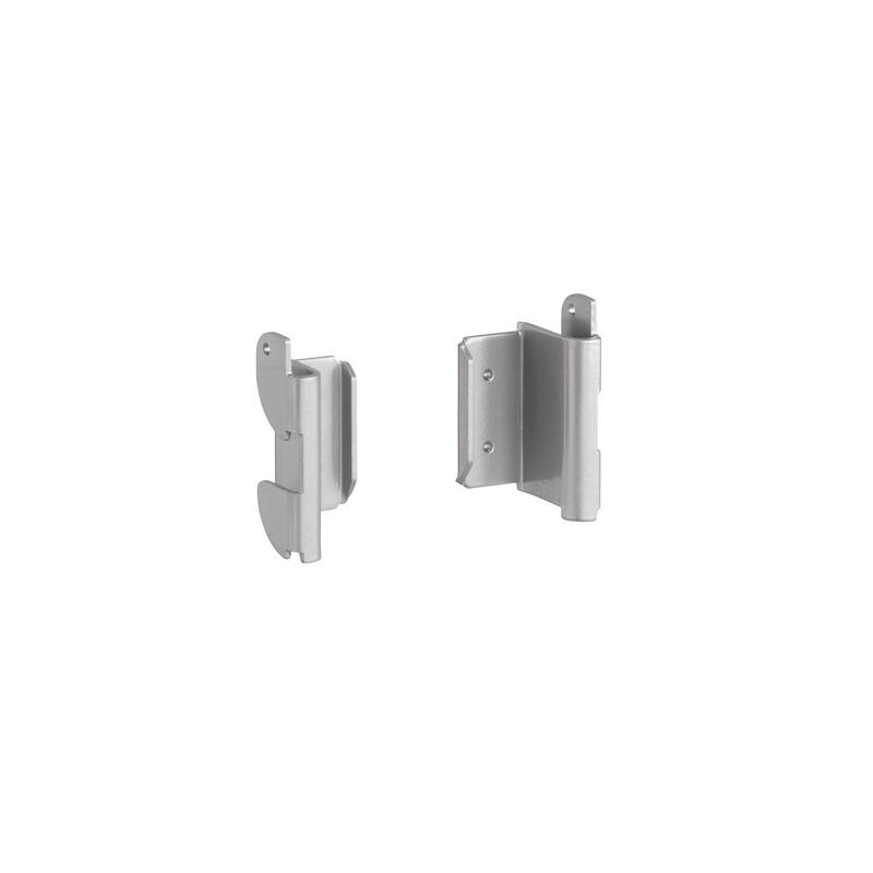 Fixations lisse utility platinium-Elfa