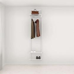 Solution d'entrée Elfa Classic Blanc option 1