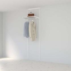 Solution pour placard Elfa Classic Blanc option 1